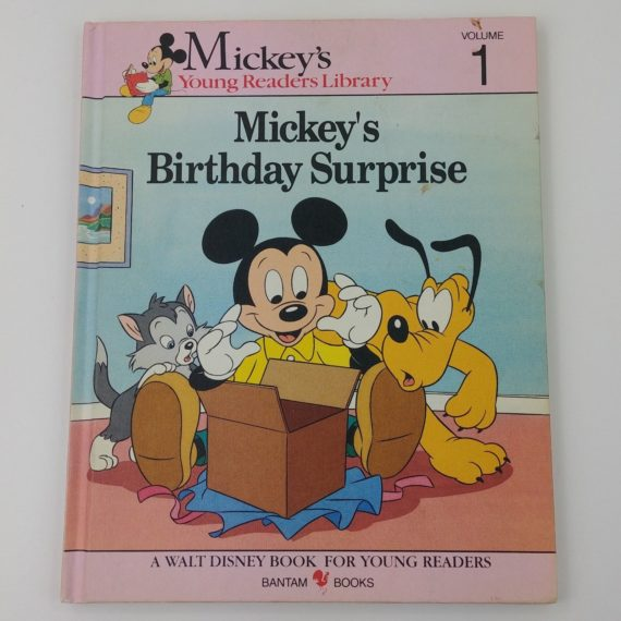 mickeys-young-reader-library-book-hardcover-mickeys-birthday-surprise-vol-1