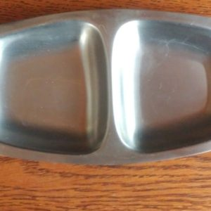 mid-century-stainless-wood-tray-18-8-stainless-steel-japan-7-1-4-long-2