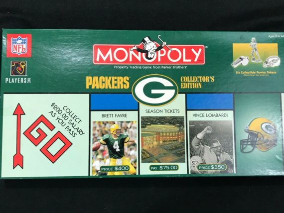 monopoly-green-bay-packers-collectors-edition-2003-complete