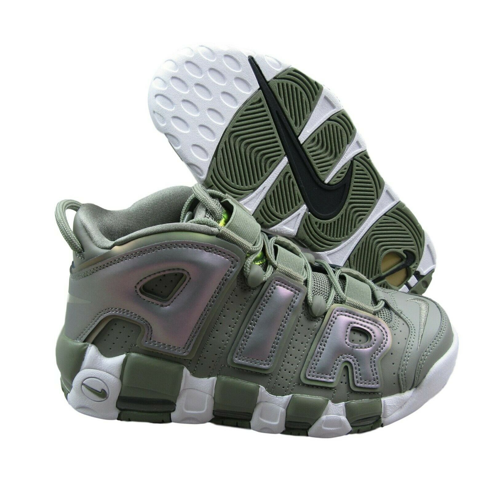 cheap for discount 39af4 653db nike-air-more-uptempo-dark-stucco-white-iridescent- · Women s Athletic Shoes