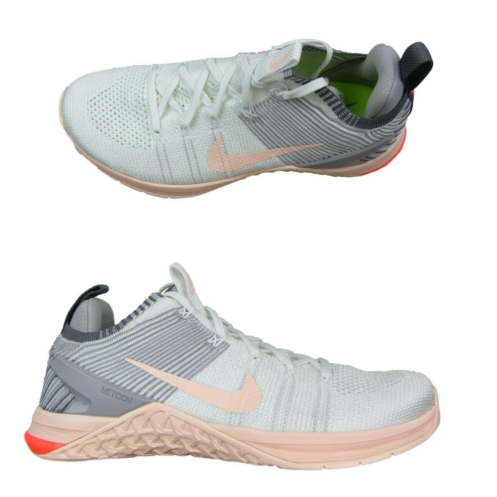 sports shoes 3a2e6 b7343 Nike Metcon DSX Flyknit 2 Womens Cross Training Gym Shoes Size 10 ...