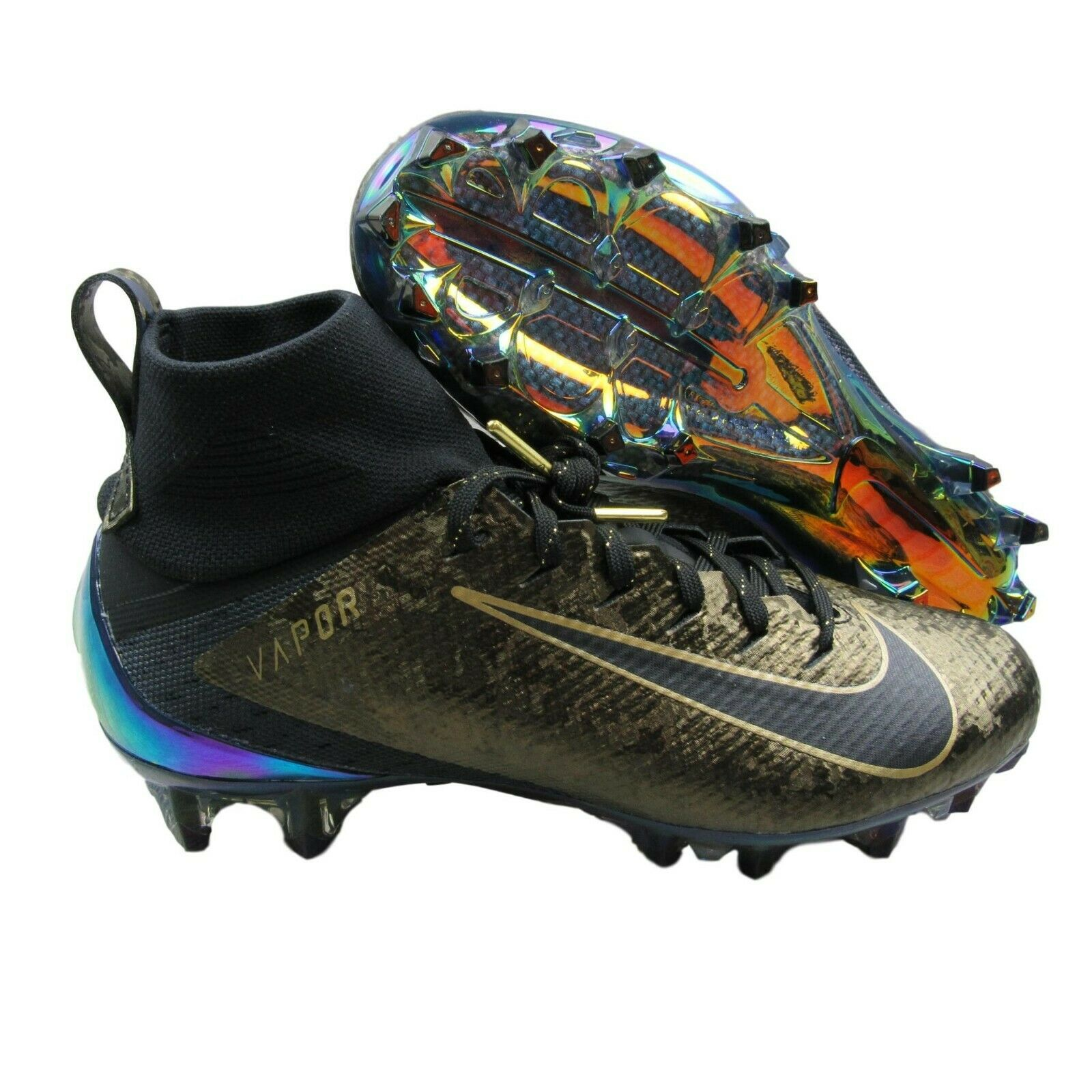 98c2d843e2b5 Nike Vapor Untouchable 3 Pro PRM Football Cleats Black Size 7.5 ...