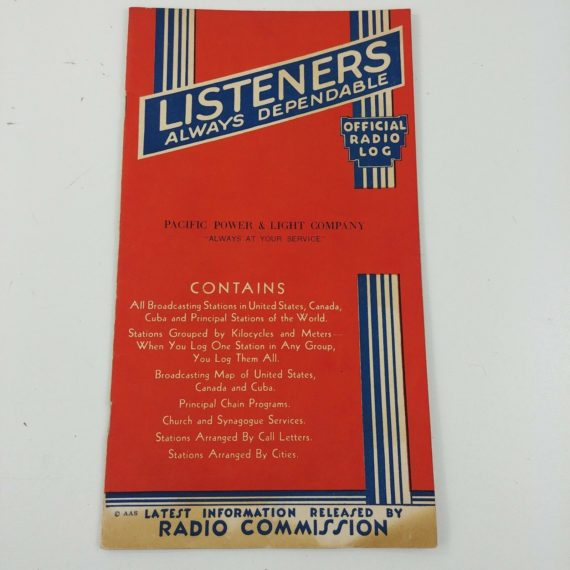 official-log-book-radio-listeners-stations-call-letters-pacific-power-light