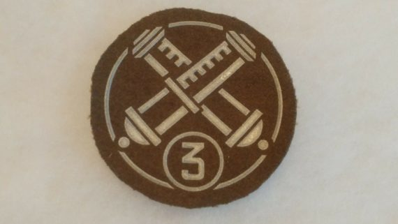 old-military-pin-medal-ww2-to-vietnam-green-circle-patch-3