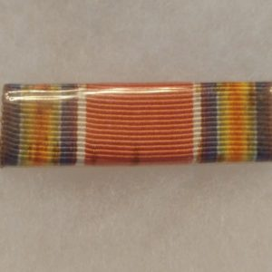old-military-pin-medal-ww2-to-vietnam-rank-bar-red-blue-white-3