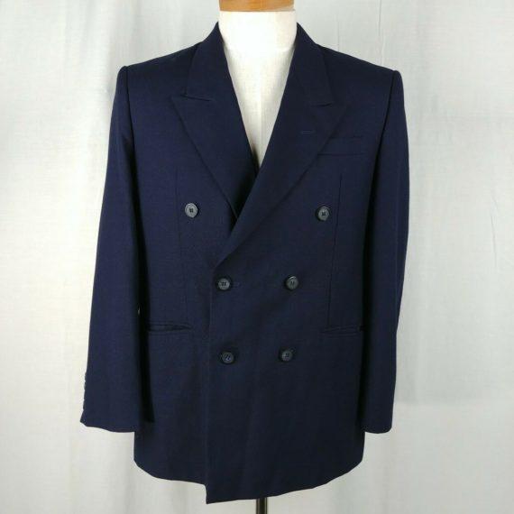 onesimus-blue-double-breasted-suit-coat-jacket-blazer-mens-size-48