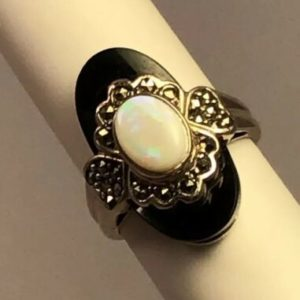 opal-marcasite-black-onyx-925-hearts-cluster-cocktail-ring-size-5-75
