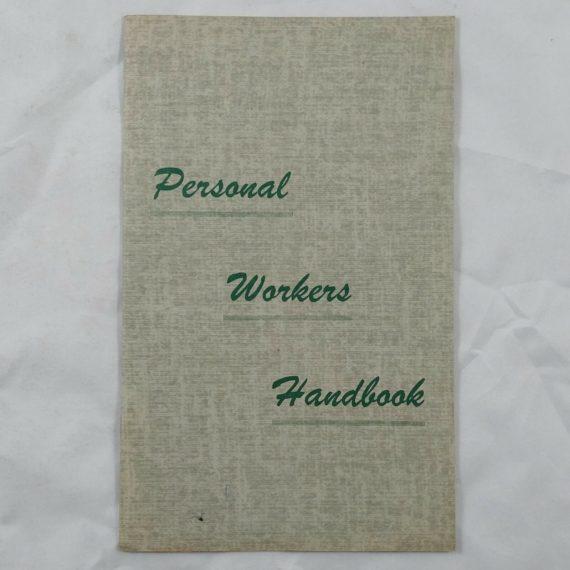 personal-workers-handbook-vintage-religious-book-booklet-portland-or
