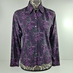 petite-sophisticate-womens-purple-paisley-button-down-long-sleeve-blouse-size-6