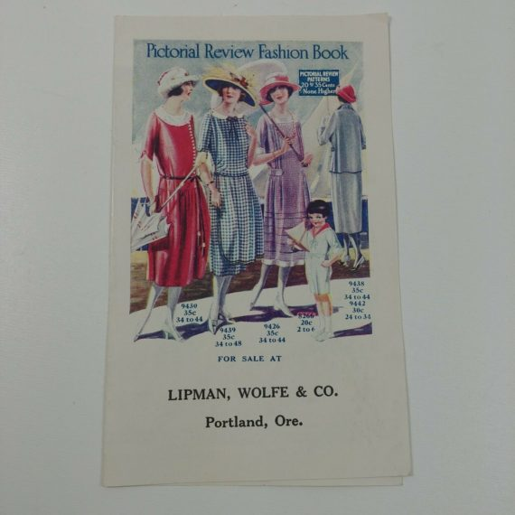 pictorial-review-fashion-book-lipman-wolfe-co-portland-or-ad-pamphlet