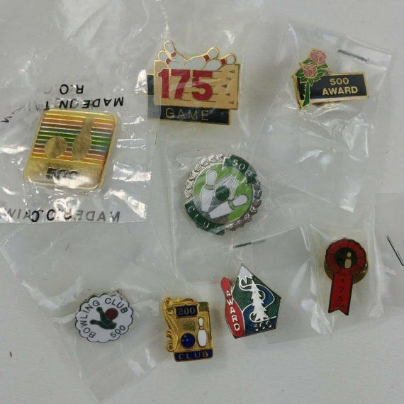 pins-pinbacks-lot-bowling-200-175-500-game-club-collectible-rose-ribbon-lot-3
