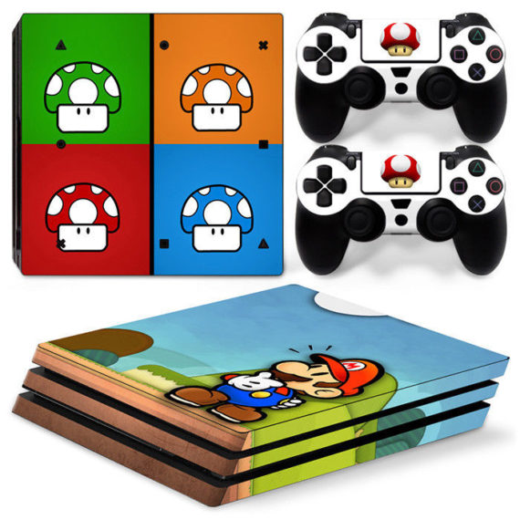 ps4-pro-console-2-controllers-super-mario-decal-vinyl-cover-skin-sticker