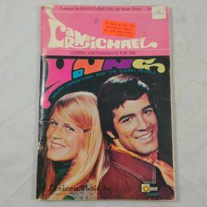 ralph-carmichael-choral-arrangements-for-young-people-choir-1970-retro-hippie
