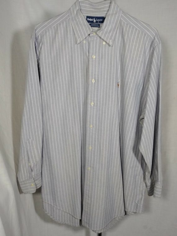 ralph-lauren-striped-mens-button-down-long-sleeved-shirt-16-1-2-32-33