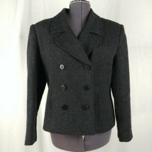 requirements-womens-double-breasted-peacoat-size-14-wool-blend-black-gray