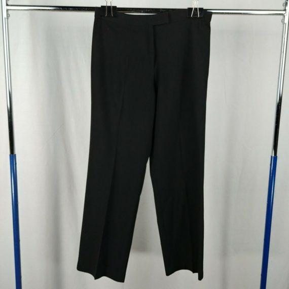 sag-harbor-black-dress-pants-slacks-relaxed-fit-womens-size-6-petite
