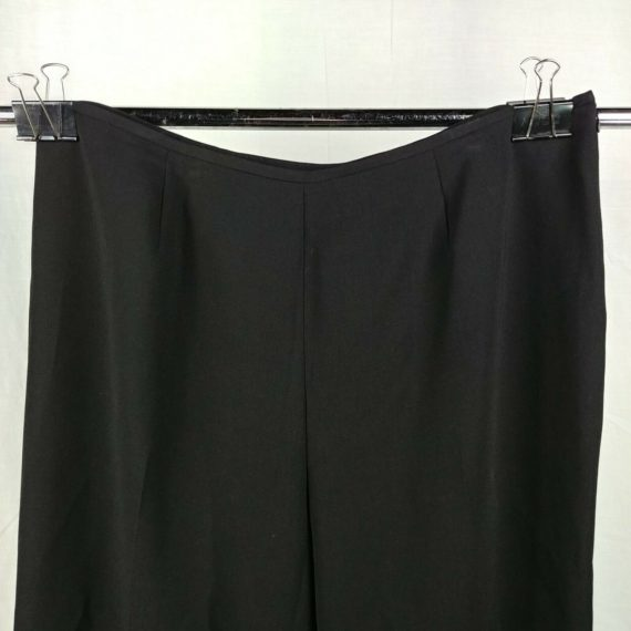 sag-harbor-suit-woman-black-dress-pants-slacks-size-18w-polyester