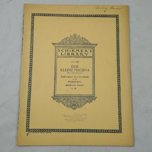 schirmers-library-1908-music-book-48-practice-piece-bernhard-wolff-pianoforte