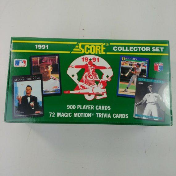 score-1991-baseball-collector-set-sealed-900-cards-72-trivia-cards-nos