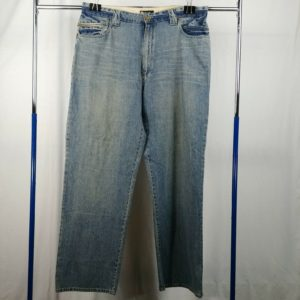 sean-john-mens-light-wash-denim-jeans-size-42t-big-tall-zipper-pocket