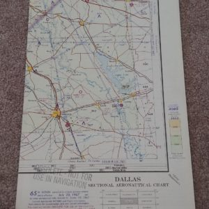 sectional-aeronautical-chart-map-dallas-1967-map-lot-20