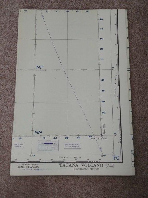 sectional-aeronautical-chart-map-tacana-volcano-1951-map-lot-26