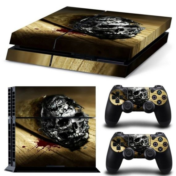 skull-horror-sony-ps4-1st-console-2-controllers-decal-vinyl-cover-skin-sticker