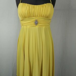 speckless-yellow-spaghetti-strap-knee-length-dress-juniors-size-l
