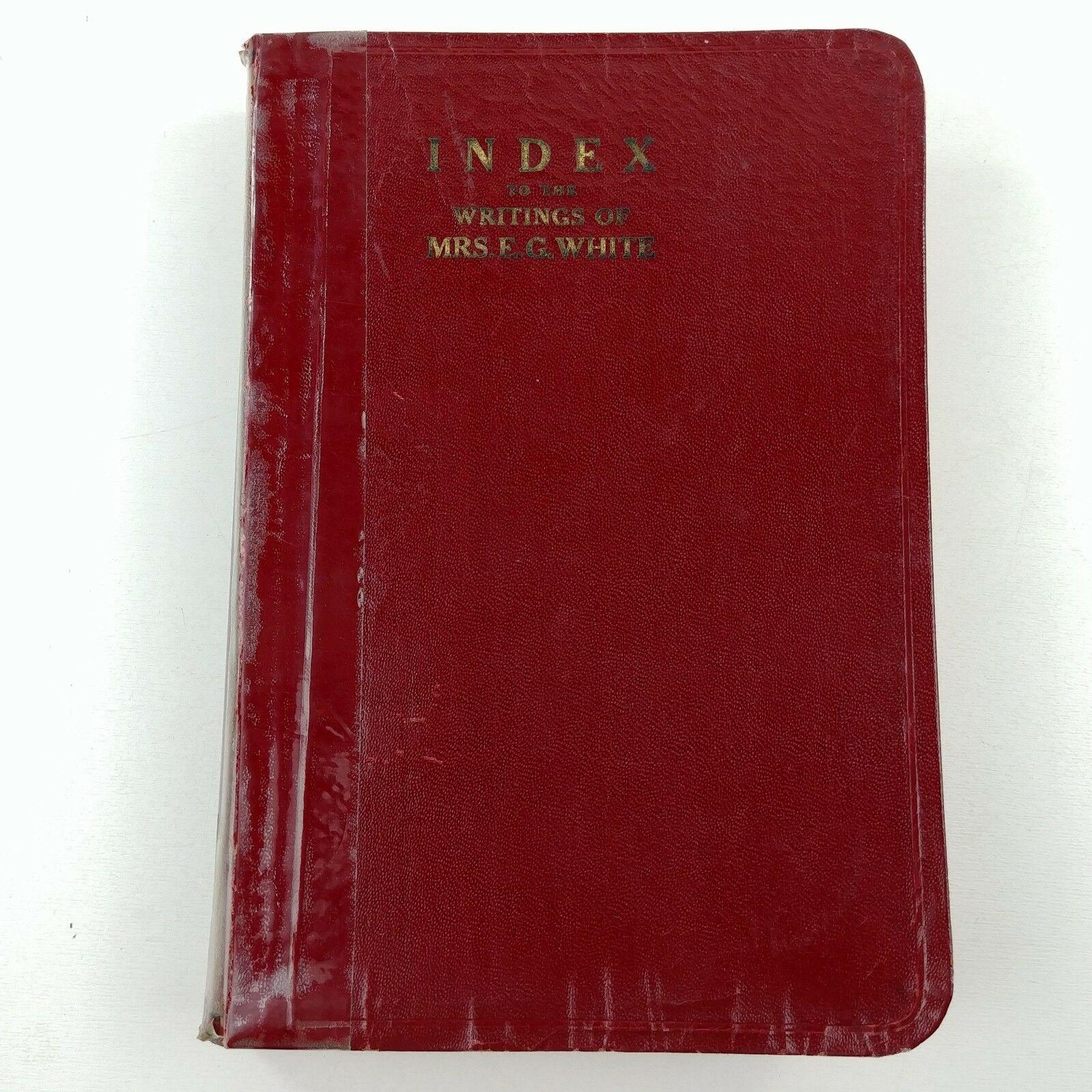 Spiritual & Subject Index to the Writings of Ellen White SDA Adventist