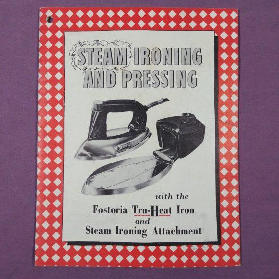 steam-ironing-pressing-fostria-tru-heat-iron-vintage-booklet-pamphlet