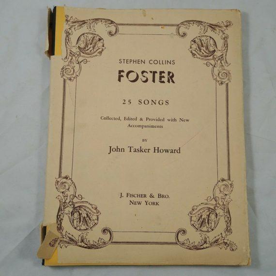 stephen-collins-foster-25-songs-john-tasker-howard-fischer-bro-ny-1934
