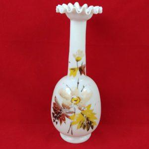 tall-ruffled-edge-hand-painted-milk-glass-vase-flowers-9-vintage