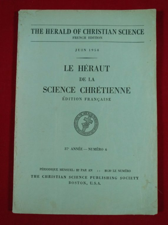 the-herald-of-christian-science-french-edition-june-1954-number-6-paperback
