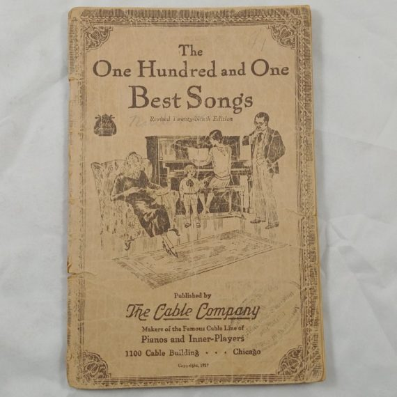 the-one-hundred-one-best-songs-patriotic-vintage-music-song-book-booklet