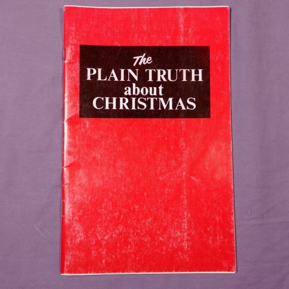 the-plain-truth-about-christmas-vintage-pamphlet-booklet