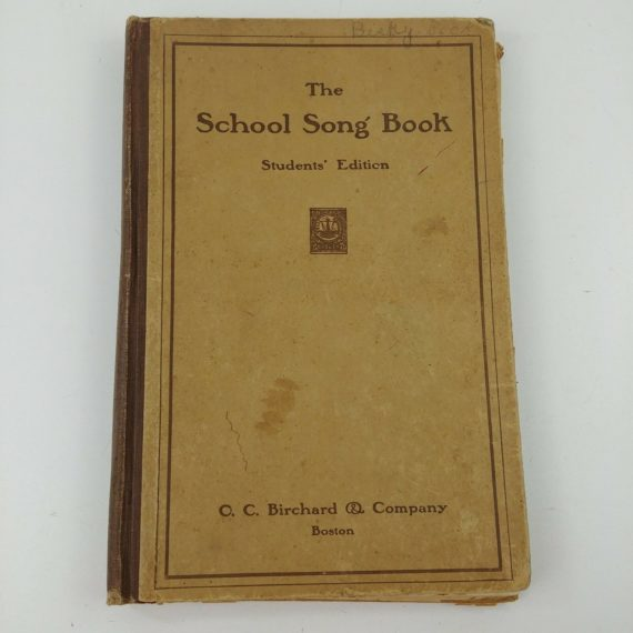 the-school-song-book-students-edition-chelsea-massachusetts-1910-antique