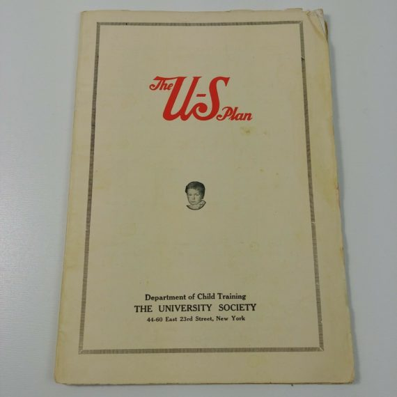 the-us-plan-department-of-child-training-university-society-ny-vintage-booklet