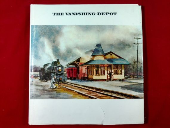 the-vanishing-depot-by-ranulph-bye-1973-hardcover-w-dust-jacket