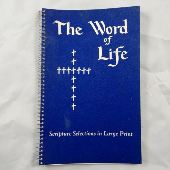 the-word-of-life-scripture-selections-1954-vintage-book-booklet-spiral-bound