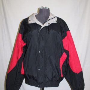 thomas-e-wilson-winter-ski-coat-black-red-womens-size-xl-lined