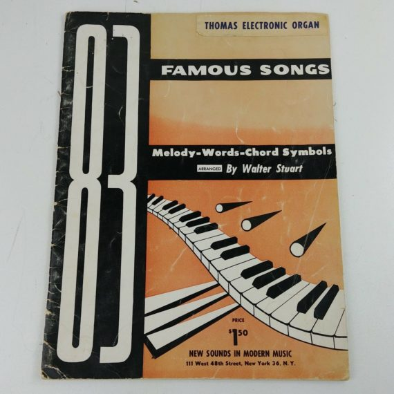 thomas-electronic-organ-83-famous-songs-stuart-melody-words-chord-symbols