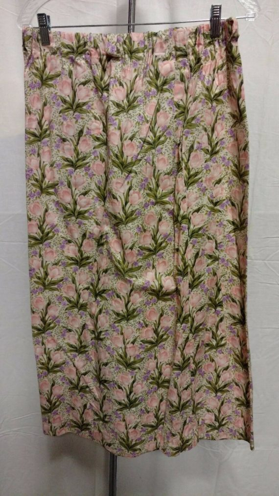 unbranded-handmade-flowy-floral-skirt-size-womens-large