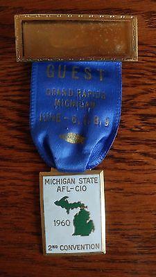 union-ribbon-medal-1960-grand-rapids-michigan-afl-cio-guest