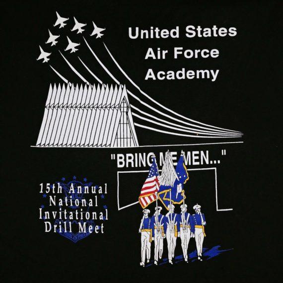 united-states-air-force-academy-1996-international-drill-meet-t-shirt-m-l