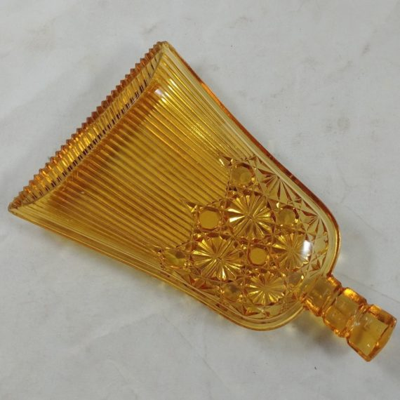 vintage-broom-shaped-candy-dish-gold-glass-marked-pat-apld-for-7-1-2l-5w