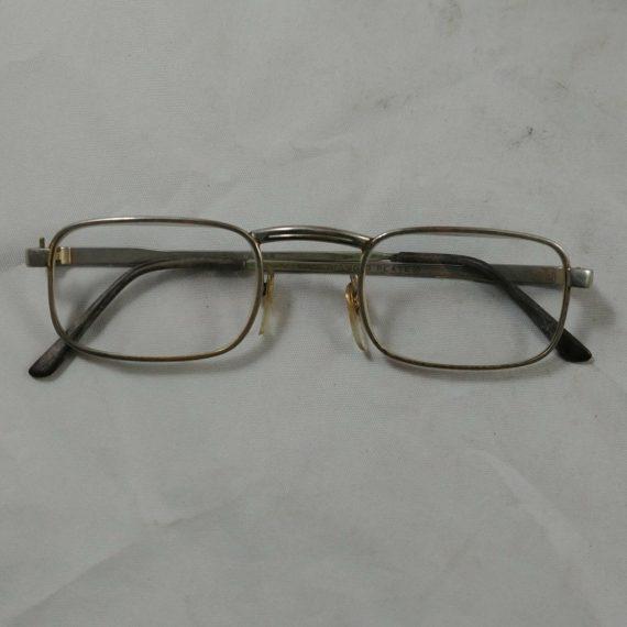 vintage-chrome-diamond-plate-korea-prescription-eyeglasses-marked-korea-6014-6