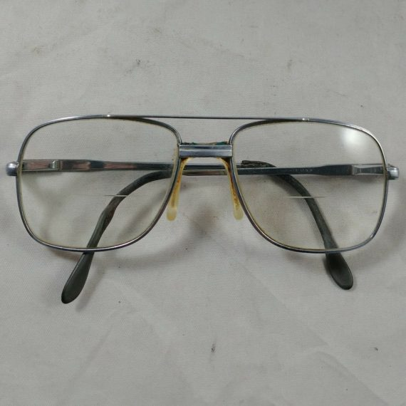 vintage-chrome-framed-aviator-prescription-eyeglasses-solid-heavy-grandpa-men-5