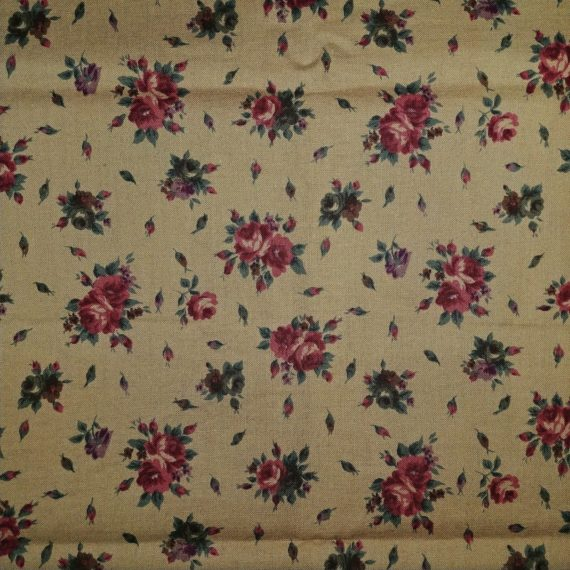 vintage-fabric-41-x-43-coventry-collection-hoffman-ca-fabrics-floral-roses