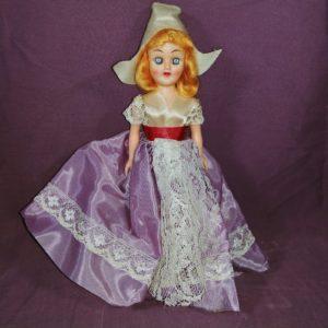 vintage-hard-plastic-marcie-doll-dutch-girl-purple-dress-blue-sleeper-eyes