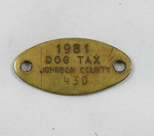 vintage-johnson-county-dog-tax-tag-1981